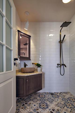 混搭风格两居室卫生间装修效果图
