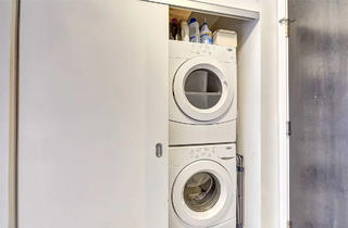 混搭风格一居室洗衣区装修效果图