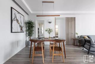 简约现代三居室餐厅装修效果图