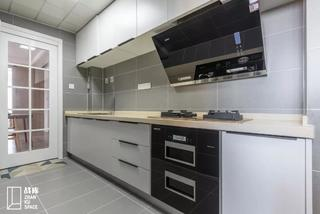 简约现代三居室厨房装修效果图