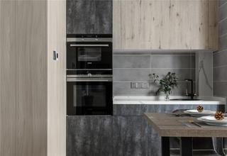 140平現代簡約裝修櫥柜設計圖