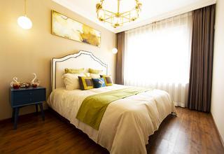 74平米二居卧室装修效果图