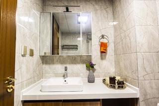 74平米二居室洗手台装修效果图