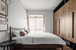 现代日式三居卧室装修效果图