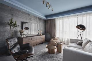 混搭風格三居客廳裝修效果圖
