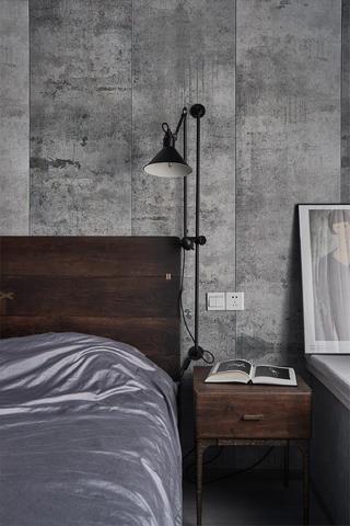 混搭风格三居装修床头壁灯设计
