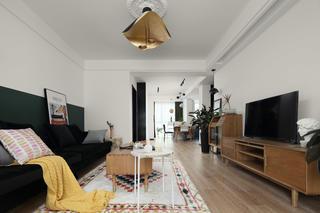 简约北欧风格三居客厅装修效果图