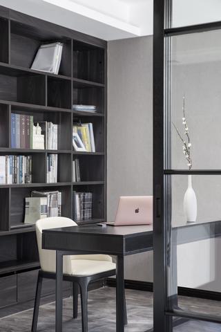 148㎡现代风格书房装修效果图
