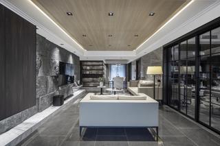 148㎡现代风格客厅装修效果图