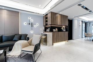 155㎡现代风格装修客厅一角