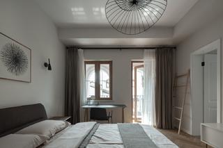 复式极简现代风卧室装修效果图