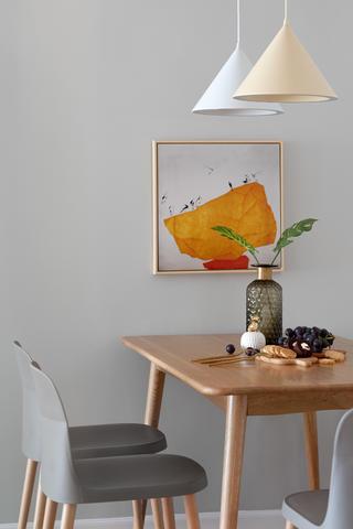 70平米两居室装修餐厅特写