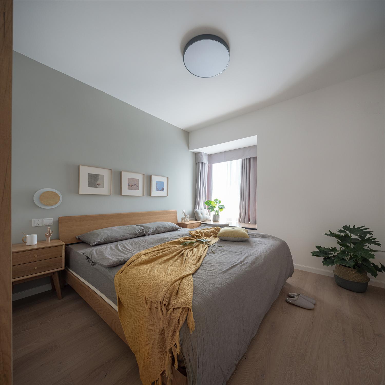 70平米两居卧室装修效果图