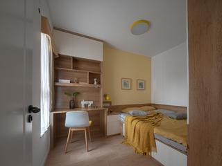 70平米两居室榻榻米房装修效果图