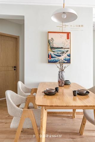 日式风格二居餐厅装修效果图