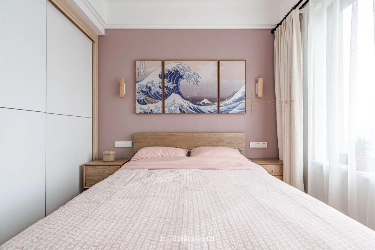 日式风格二居卧室装修效果图