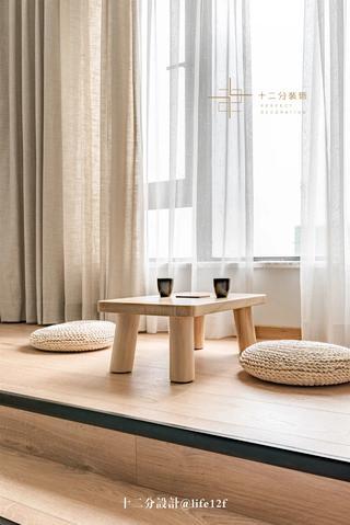日式风格二居地台装修效果图