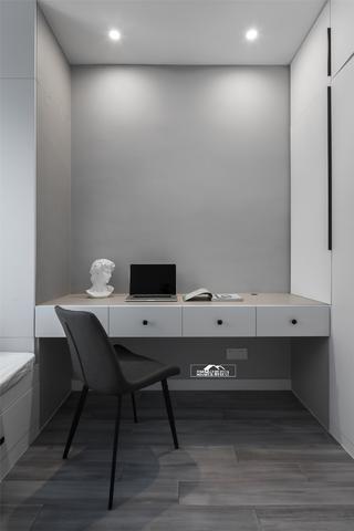 145㎡现代简约书桌装修效果图