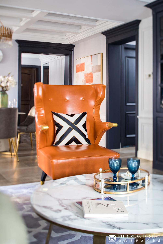 180㎡美式风格装修沙发椅设计图