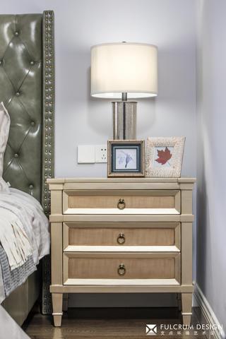 180㎡美式风格装修床头柜设计图