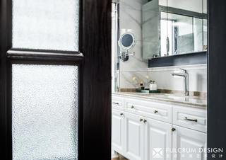 180㎡美式风格洗手台装修效果图