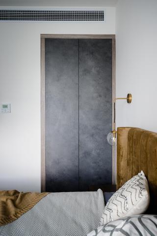 现代简约风格装修卧室衣柜设计