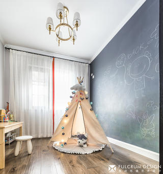 180㎡美式风格儿童房装修效果图