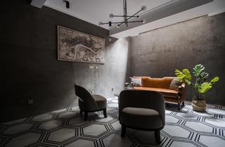 混搭风格别墅地下室装修效果图