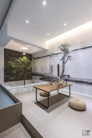 现代风格别墅茶室装修效果图