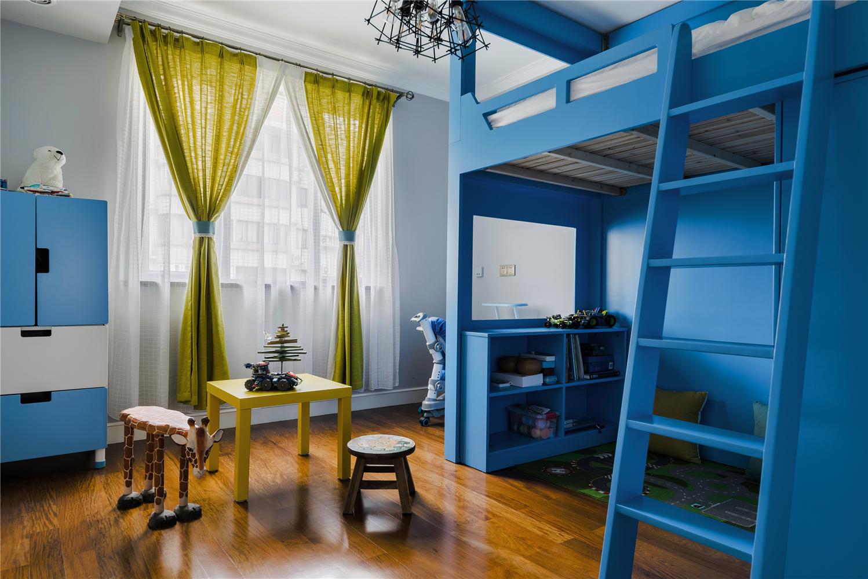 混搭风格二居室儿童房装修效果图