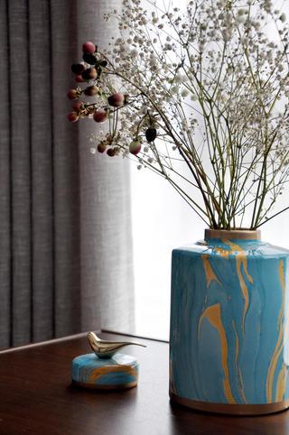 大户型新中式风格装修花瓶设计