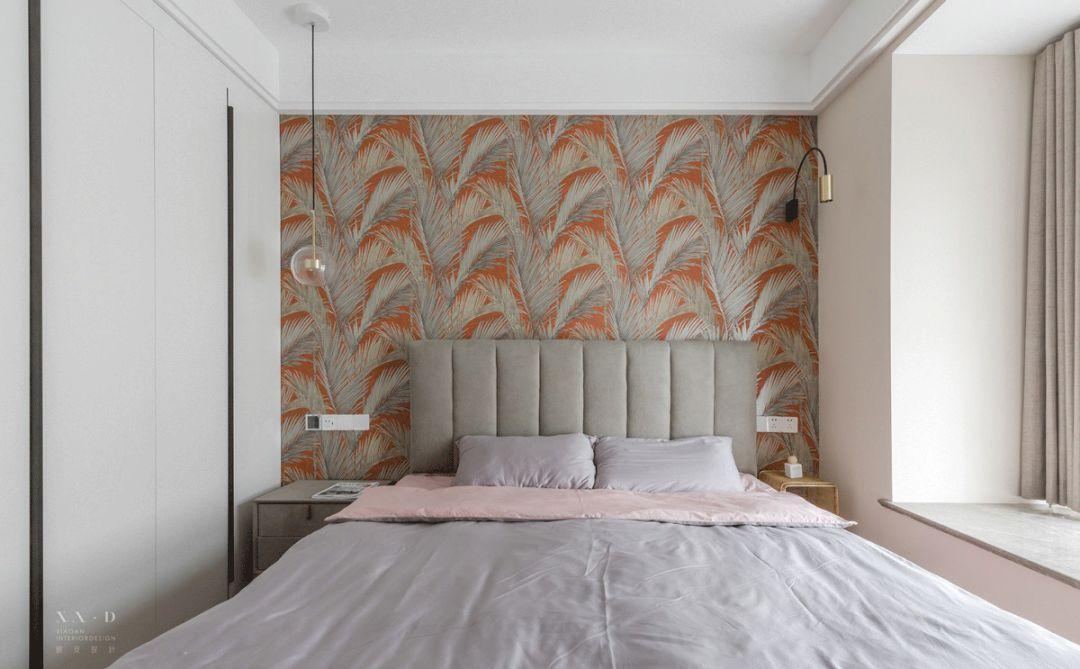 108㎡北欧风格卧室装修效果图