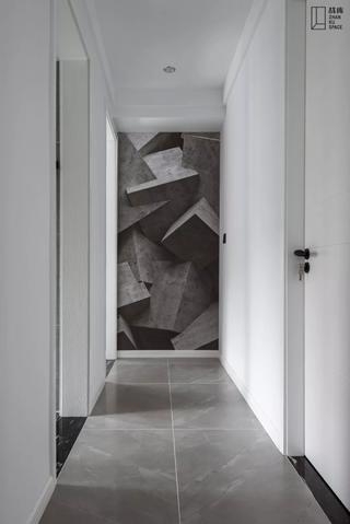130㎡现代风格走廊装修效果图