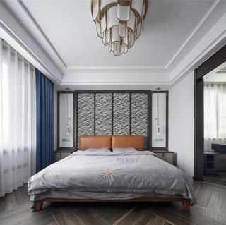 现代轻中式风格四房装修效果图