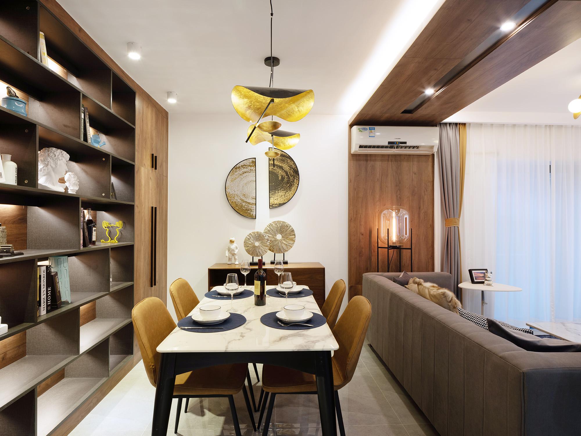 92平现代风格餐厅装修效果图