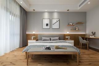 北欧风格别墅卧室装修效果图