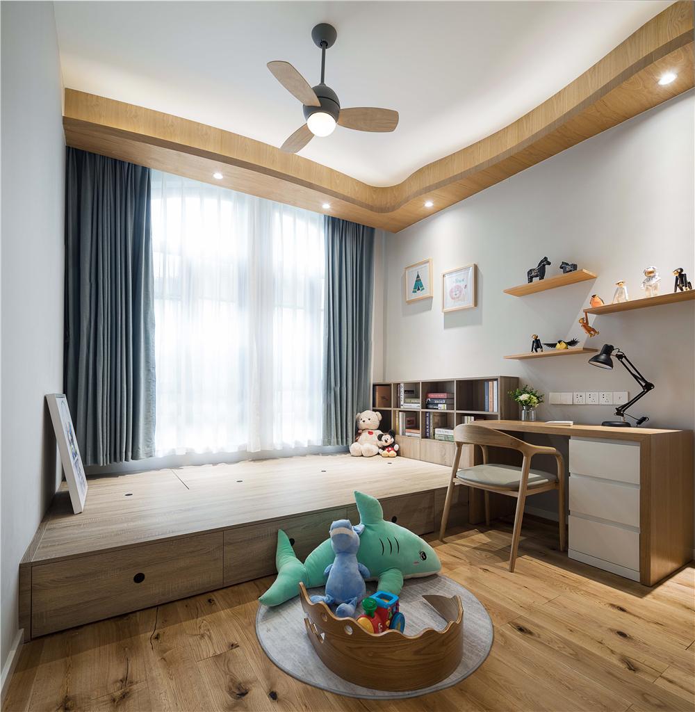 北欧风格别墅榻榻米儿童房装修效果图