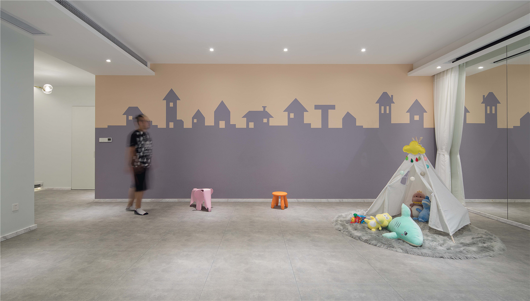 别墅儿童娱乐区装修效果图