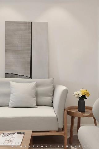 105㎡极简风格装修沙发设计图