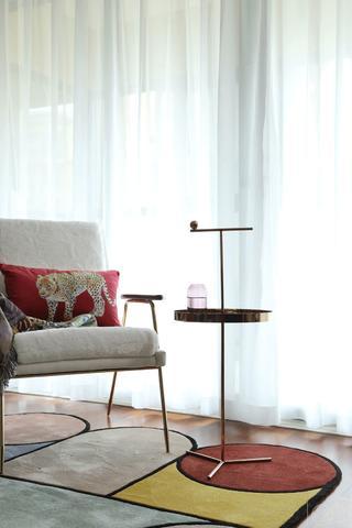 110㎡北欧风装修休闲椅设计