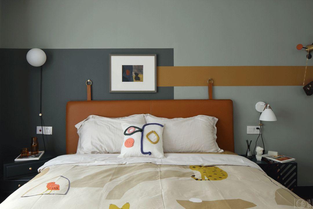 110㎡北欧风卧室装修效果图