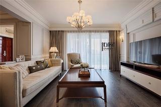 美式新古典风格客厅装修注册送300元现金老虎机图