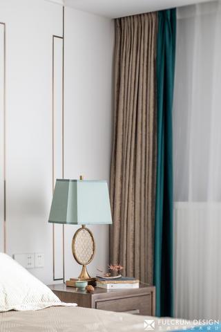 140㎡新中式风格装修床头台灯设计