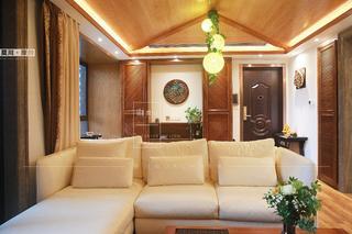 86㎡东南亚风格装修沙发设计图