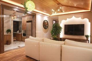 86㎡东南亚风格客厅每日首存送20