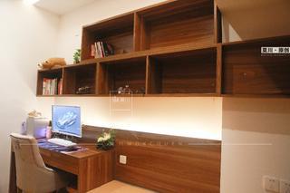 86㎡东南亚风格装修书桌设计图