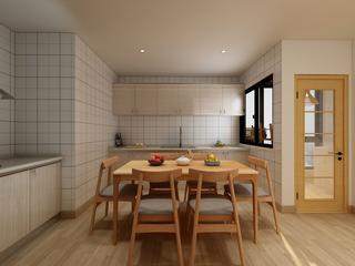 日式风格三居餐厅装修效果图