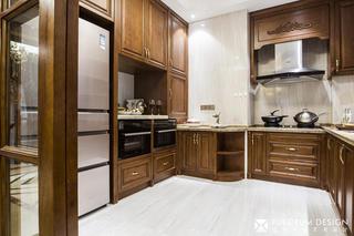经典美式风格别墅厨房装修效果图