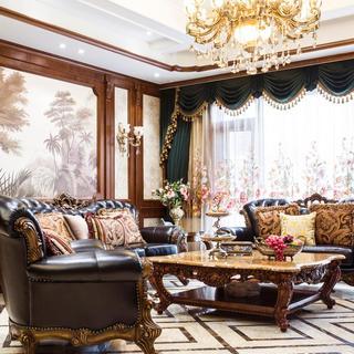 经典美式风格别墅装修效果图