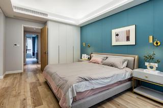 165㎡现代风三居卧室装修效果图
